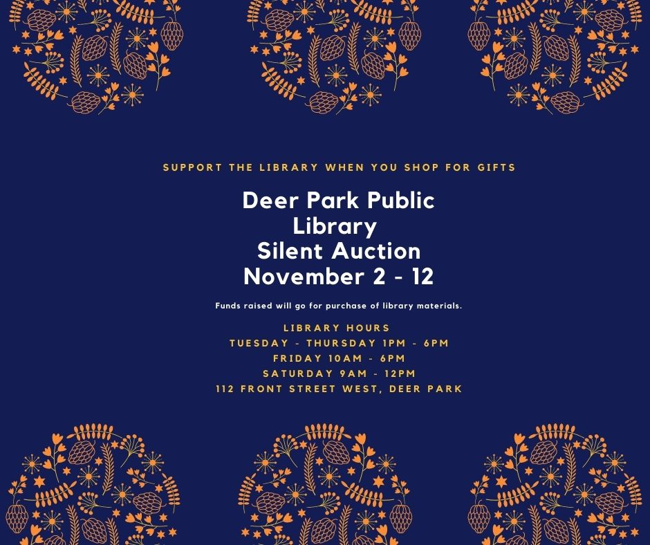 Library Silent Auction November 2-12